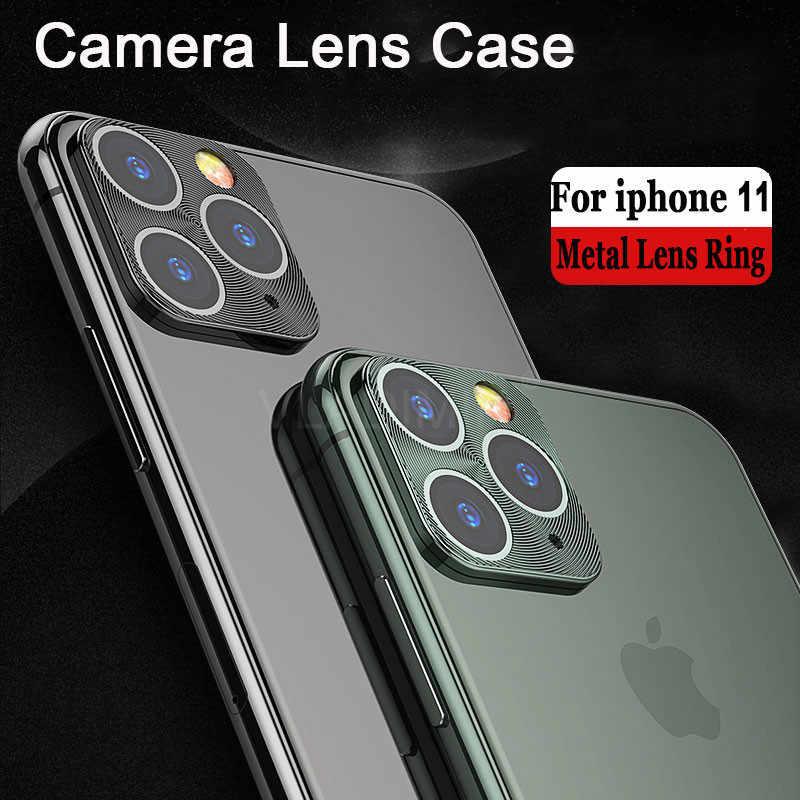 Luxe Achteruitrijcamera Guard Metalen Lens Case Cover Ring Bumper Bescherming Voor apple iphone X XS 11 Pro Max XR lens ring accessoires