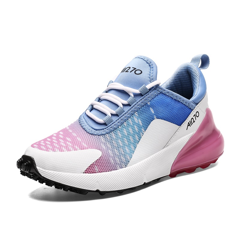 BLWBYL Women Casual Shoes Fashion Women Sneakers Breathable Mesh Walking Shoes Lace Up Flat Shoes Plus Size 36-47