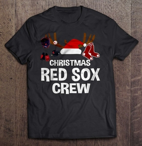 Men Funny T Shirt Fashion tshirt Christmas Red Sox Crew Women t-shirt(China)