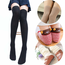 4 Types Women Socks Stockings Warm Thigh High Over the Knee Socks Long Cotton Striped Animal Stockings Medias Sexy Stockings стоимость