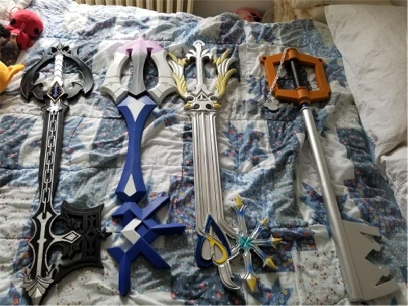 4 Styles Kingdom Hearts Sora Heartless Giant Key Shadow Weapon Key Cosplay Sword