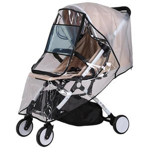Rain-Cover Baby-Stroller Odorless Food-Grade And Non-Toxic Windproof