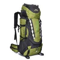 80L Outdoor wodoodporny plecak sportowy torba turystyczna Camping plecak podróżny alpinista wspinaczka zwiedzanie wycieczka w Torby wspinaczkowe od Sport i rozrywka na
