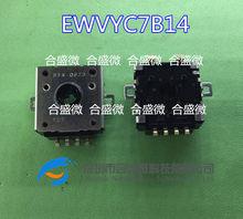 2PCS роторный реостат потенциометра EWVYC7B14 EWV-YC7B14 угол поворотный переключатель кодирования