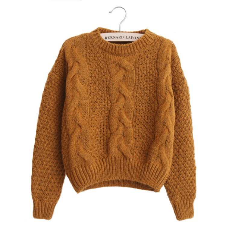 Neue 2019 mode warme winter pullover frauen pullover frauen vintage - Damenbekleidung - Foto 1