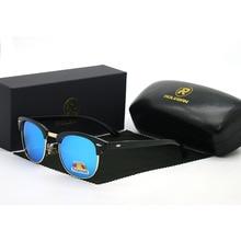 Fashion Classic Polarized Sunglasses Men Women Retro Brand Designer Sem