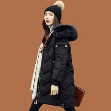 2019 New Down Jacket Female Long Section Thick Slim Slim Korean Coat