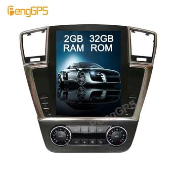 Android Tesla Vertical Screen for Mercedes-Benz ML 2012-2016/GL 2013+ Audio Player 1080P GPS Navigation 12.1 inch 1080P Headunit