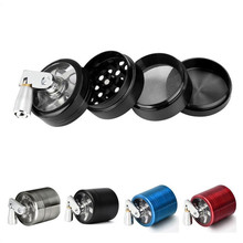 40mm 4 Layer Herb Grinder  Hand Muller Grass Mill Crusher Cigar Tobacco Spice Pollinator Accessories