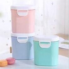 Leite do bebê em pó recipiente caixa de armazenamento de alimentos caixa multicamadas lactentes alimentação de armazenamento de alimentos boxs