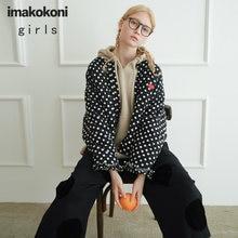 Черное короткое пальто imakokoni оригинальная Женская одежда