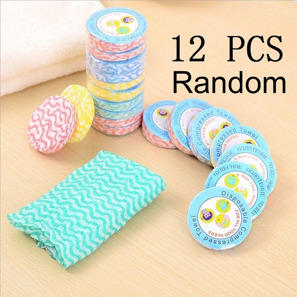5//10pcs Portable Compressed Towel Non-woven Fabric Mini Face Care Soft Towels