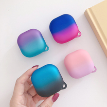 Case for Galaxy Buds Pro Gradient Colorful Matte PC Hard Case Shell Earphone Sleeve for Samsung Galaxy Buds Pro Headset