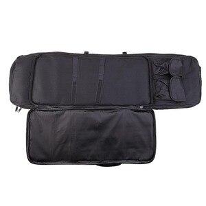Image 3 - 95Cm/120Cm Tactical Gun Case Padded Gun Bag Outdoor Schieten Jacht Zakken Gear Militaire Accessoires Carrying Storage holster