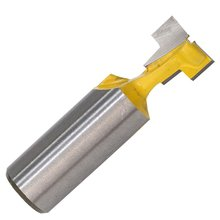 цена на 1pcs T-slot Milling Cutters 1/2 Shank Router Bit 1/4 Shank Router Bit For Wood Keyhole Knife For Woodworking