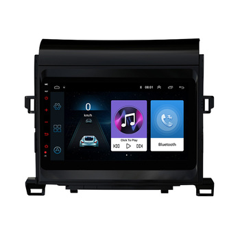 For Toyota Alphard 2010-2014 2 DIN Car Radio Multimedia Player GPS AutoRadio Head unit Android 8.1 9 SWC WIFI FM image