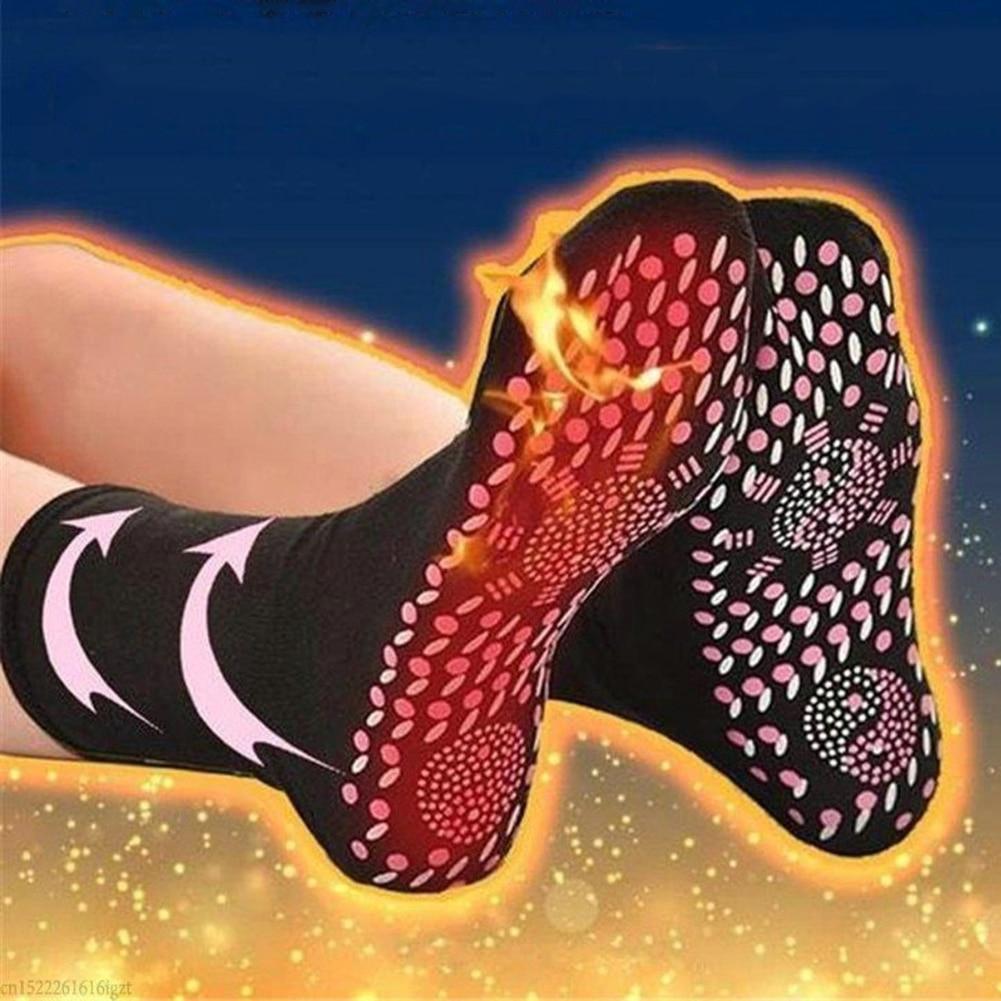 2019 New Tourmaline Self Heating Magnetic Socks Comfortable And Breathable Winter Ski Fitness Thermal Sport Socks
