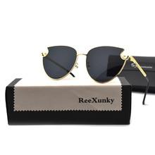 2019 New Luxury  Pearl Cat Eye Sunglasses Women Fashion Brand Designer Metal Frame Sun Glasses 7 Styles UV400