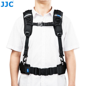 Image 2 - JJC Vest style Photography Belt & Harness System For JJC DLP Series, Lowepro S&F Series Lens Pouches For Canon Nikon Sony Pentax