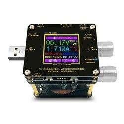 TOP! bezprzewodowa ładowarka Tester woltomierz detektor obciążenia 1.44 calowy kolorowy ekran Ips na