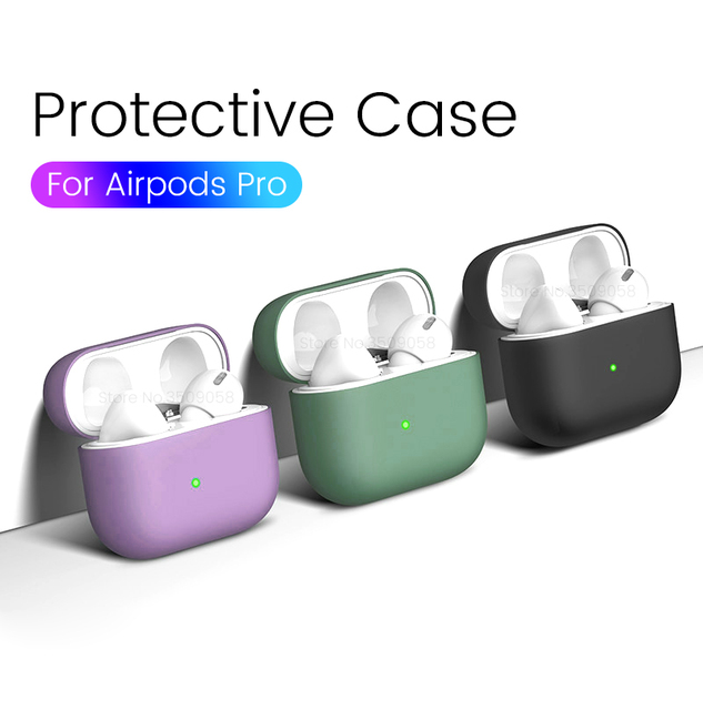 Silicone Shockproof Case for AirPods Pro