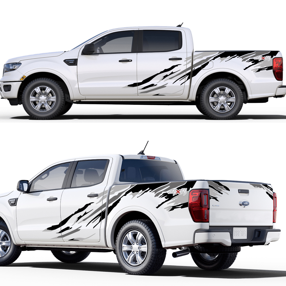 For Isuzu DMA HLLebw Auto Pegatinas de Calcoman/ías For Toyota Hilux Pickup For Ford Ranger Raptor For Nissan NAVARA