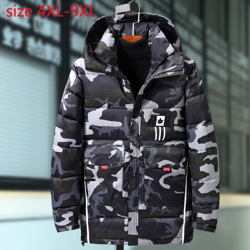 New Arrival Fashion Extra Large Men Winter Padded Jacket Style Loose Super Coat Casual Thick Plus Size 4XL 5XL 6XL 7XL 8XL 9XL