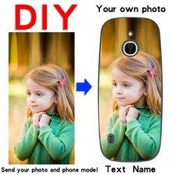 DIY Custom Design Phone Case For Nokia 1 2.1 2.2 3.1 4.2 5.1 5.1plus 6 6.1 N2016 105 3310 Soft silicone Print photo Back Cover