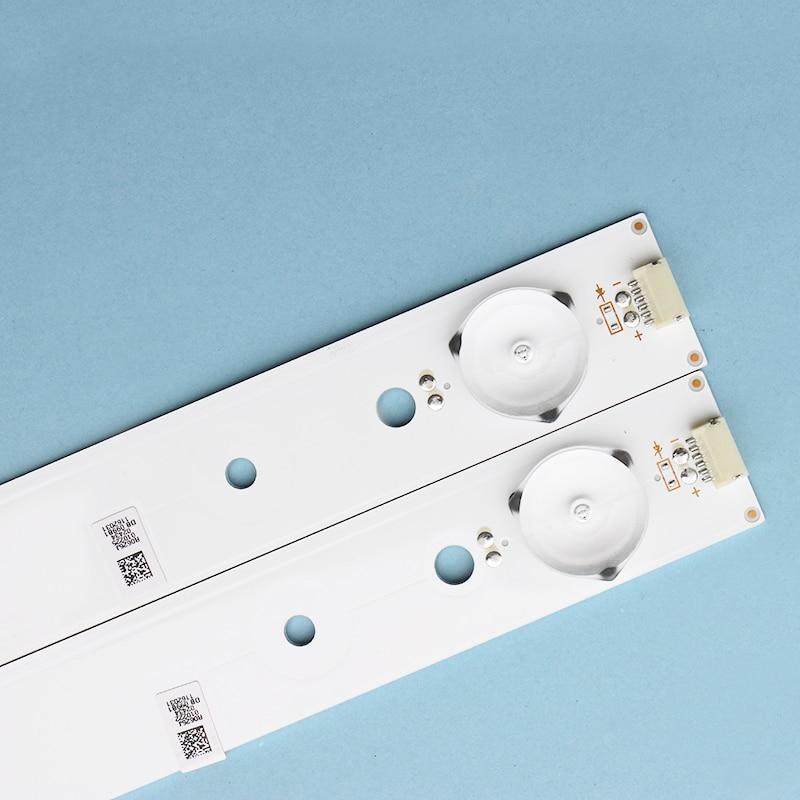 7pcsBrand New Original Hisense LED43EC200 Light Strip SVH420AA7-4LED-REV02 4 Light 40.2CM