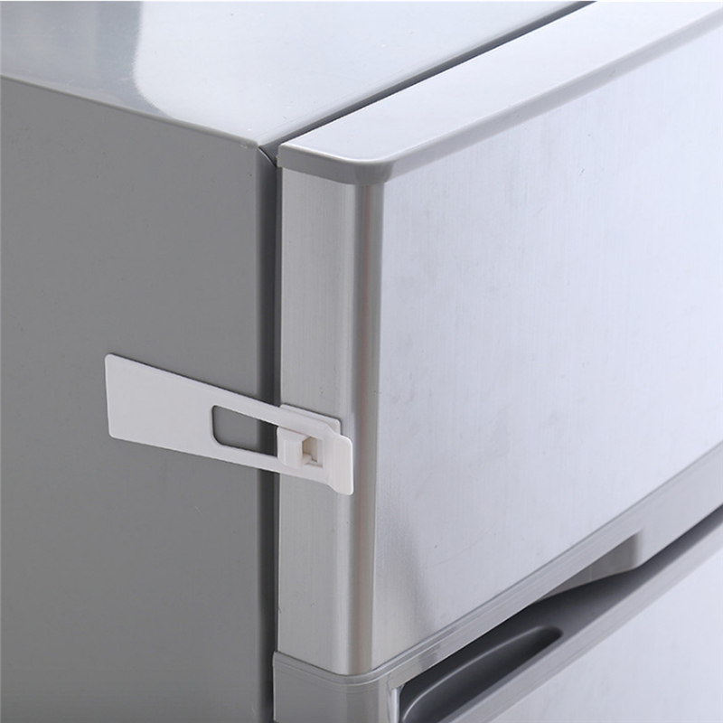 5Pcs/Pack Of Baby Multi-function Safety Protect Lock Toddler Child Kid Fridge Guard Cupboard Door Drawer Anti-pinch Safety Latch