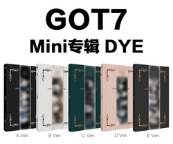 [MYKPOP]~100% OFFICIAL ORIGINAL~ GOT7 DYE MINI Album CD,  KPOP Fans Collection SA20051001