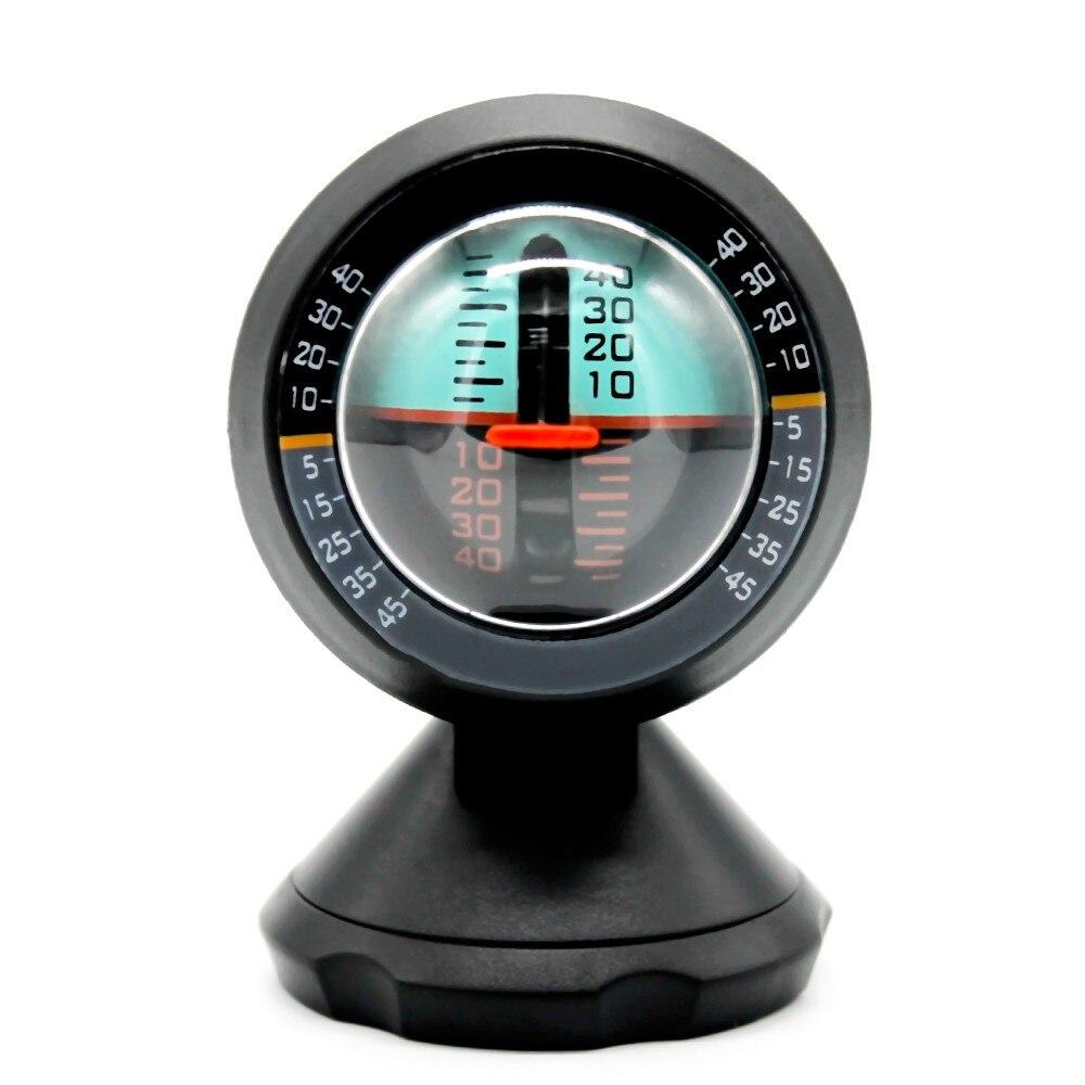Car Vehicle Inclinometer Angle Slope Tilt Indicator Level Meter Gradient Balancer Upgrade and Downgrade Slopemeter Finder Tool