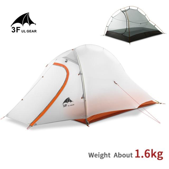 3F UL GEAR 15D Tent 2 Persons Ultralight Double Layer Waterproof 5000mm  1