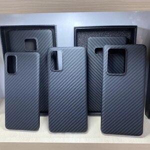 Image 5 - Grma Luxe Echte Pure Carbon Fiber Cover Voor Samsung Note20 S20 Ultra S10 Plus S10e Case Voor Samsung Galaxy Z flip Sm F7000 Case