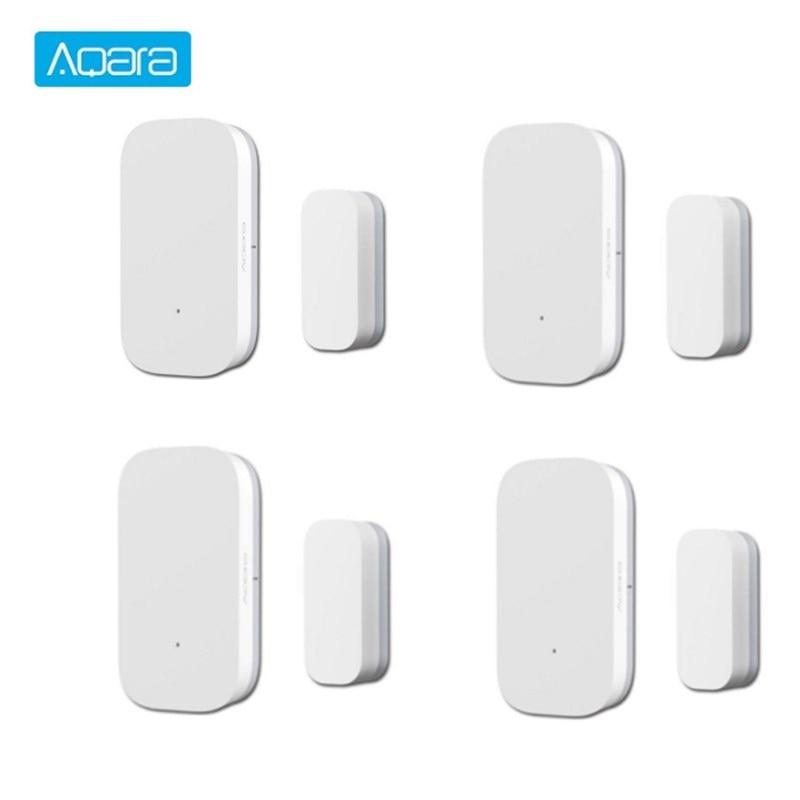Aqara Door Window Sensor Smart Home Security Mini Door Sensor ZigBee Wireless Connection Work With Mi App For Android IOS