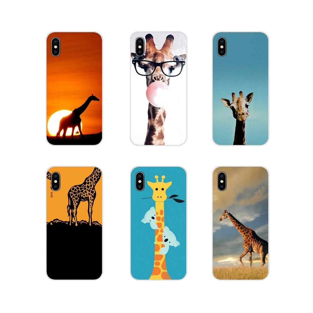 Для Oneplus 3t 5T 6T Nokia для детей возрастом 2 3 5 6 8 9 230 3310 1 7 Plus 2017 2018 Жирафы милые животные