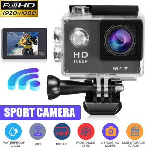 Action Camera HD 1080p WiFi 30