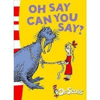 Oh Say Can You Say By Dr Seuss  Children Books Baby English Story Book For Kids Learning Educational Toys For Baby
