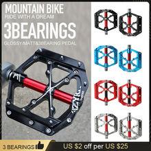 Велосипедные педали mzyrh с 3 герметичными подшипниками из алюминиевого