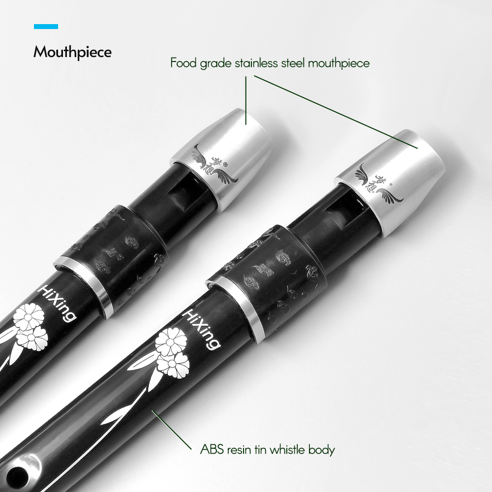 Kind-Hearted Lightweight Irish Whistle Tin Whistle Flute Recorder Instrument For Kids Beginners Soprano Recorder Wind Instrument Key Of D Latest Fashion
