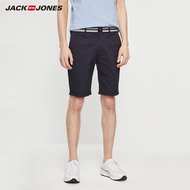 JackJones Men's Spring Fashion Comfortable Stretch Cotton Shorts Basic Menswear| 219215510