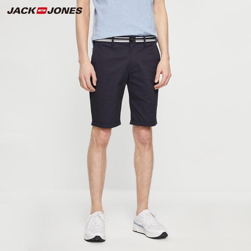 JackJones Men's Spring Fashion Comfortable Stretch Cotton Shorts Basic Menswear| 219215510