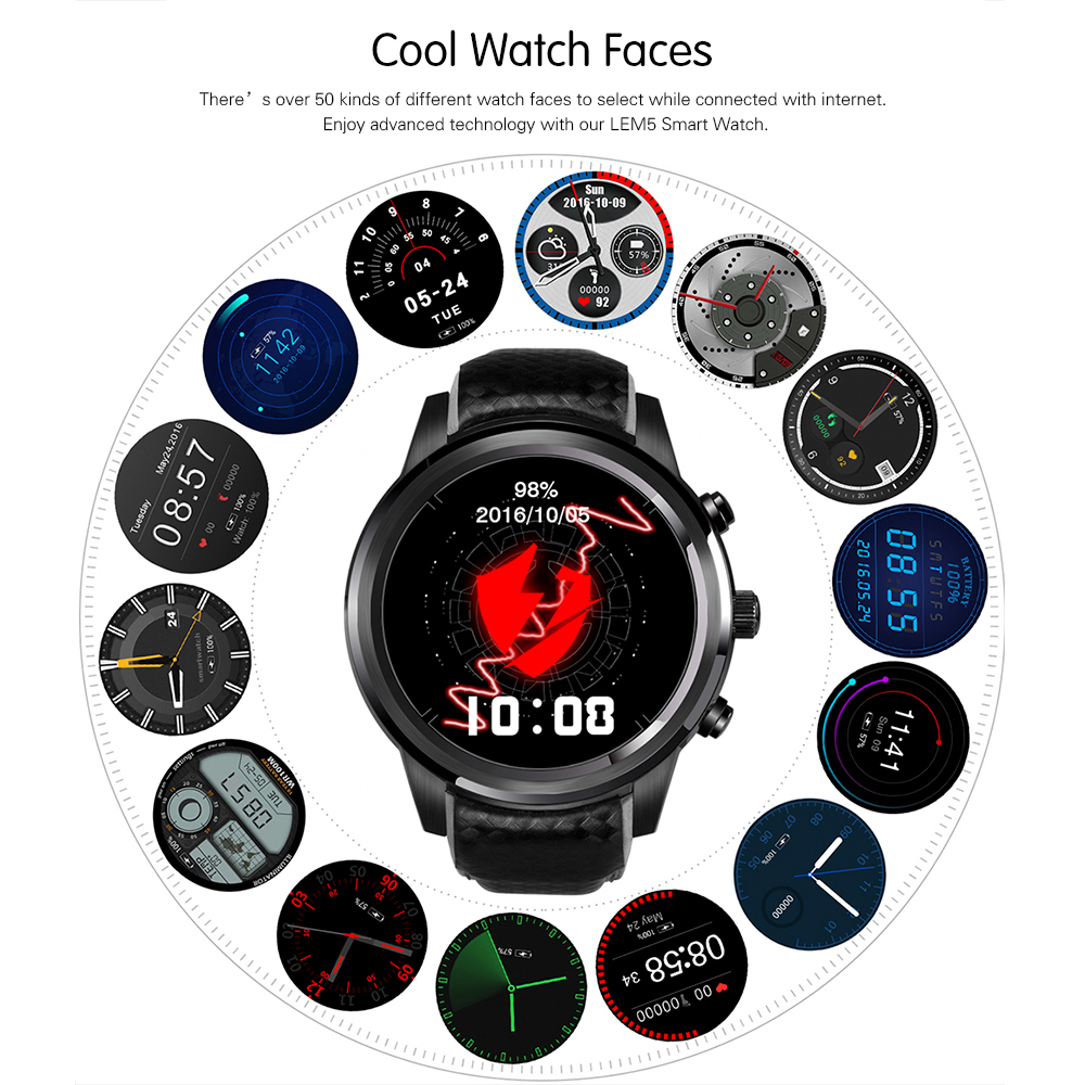 LEMFO-LEM5-3G-Smart-Watch-Phone-Android-5-1-1GB-8GB-Support-SIM-Card-GPS-WiFi (1) - 副本