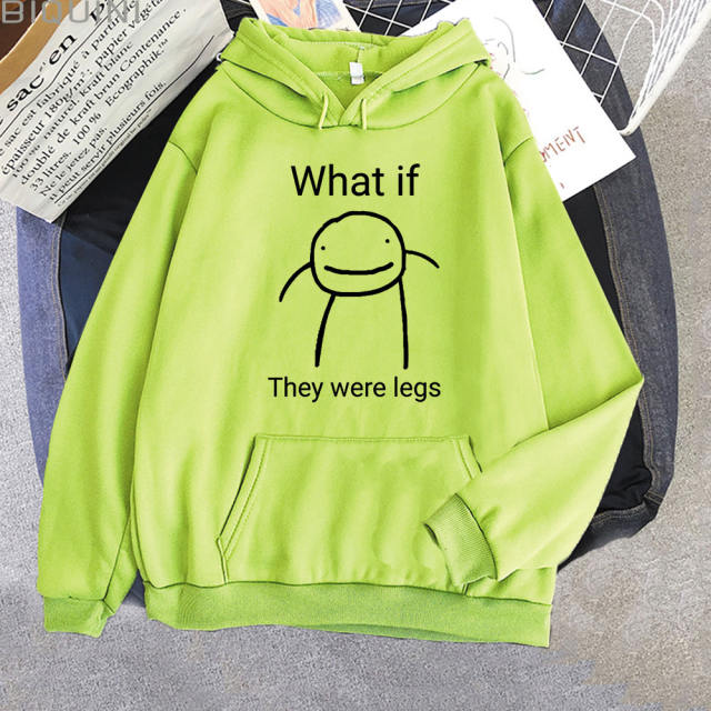 WHAT IF THEY WERE LEGS DREAM SMP THEMED HOODIE (12 VARIAN)