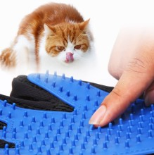Pet Soft Silicone Dog Cat brush Glove cleaning  Gentle Efficient Grooming Bath Supplies combs
