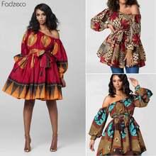 Fadzeco летние африканские платья для женщин bazin riche новое