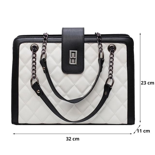 Women Leather Handbags Vintage Female Shoulder Bag Ladies Desinger Large Tote Bags for Girl Crossbody Bags Black Bag bolso mujer 6