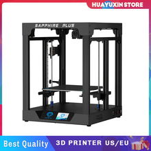 3D Printer DIY Kit FDM Dual Z Axis for Sapphire Plus V1.1 COREXY BMG Extruder Print Size 300*300*350mm TMC2225 PEI with Touchscr