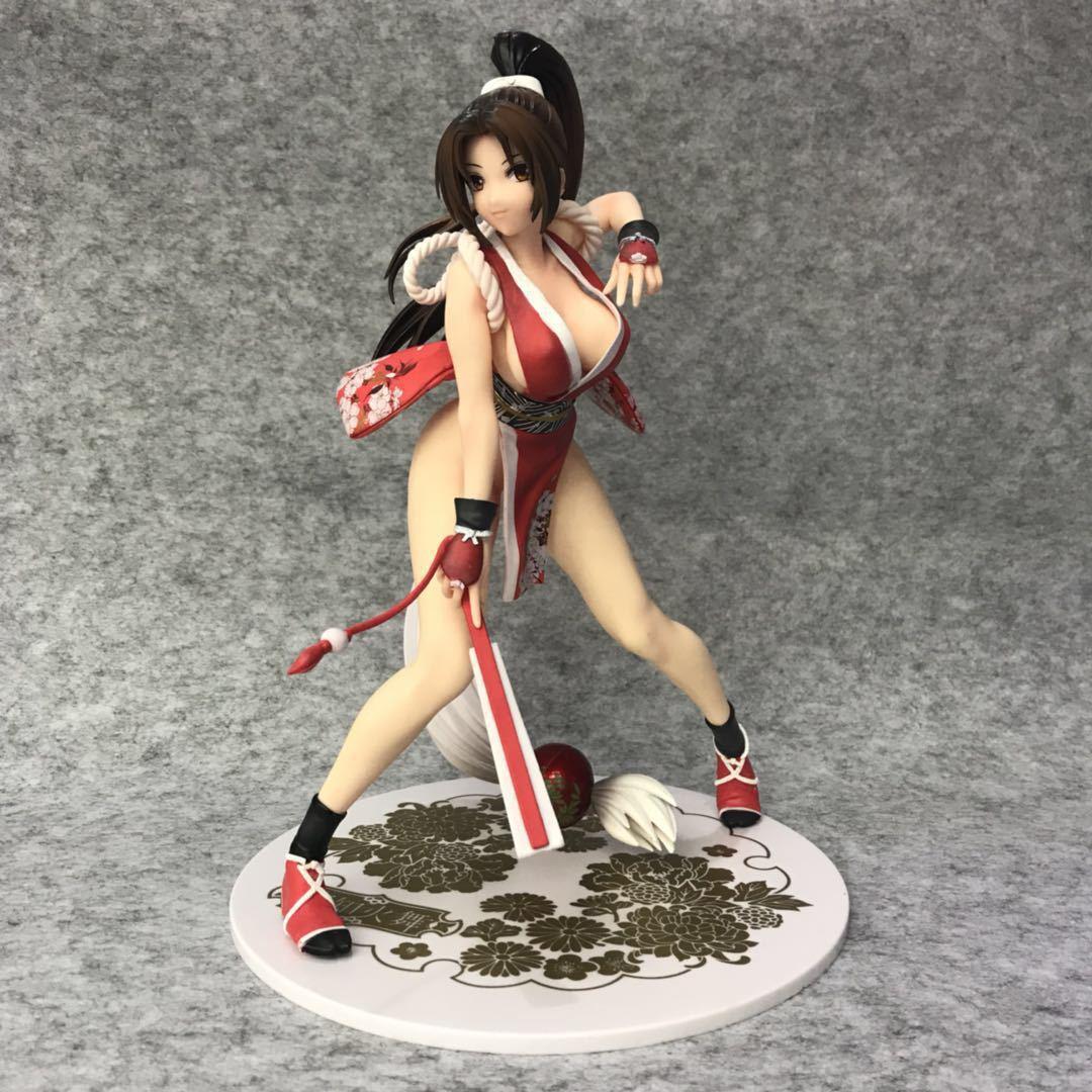 KOF Der König Der Kämpfer Mai Shiranui Kampf Ver. 1/7 Scale PVC Figure Sammeln Modell Spielzeug