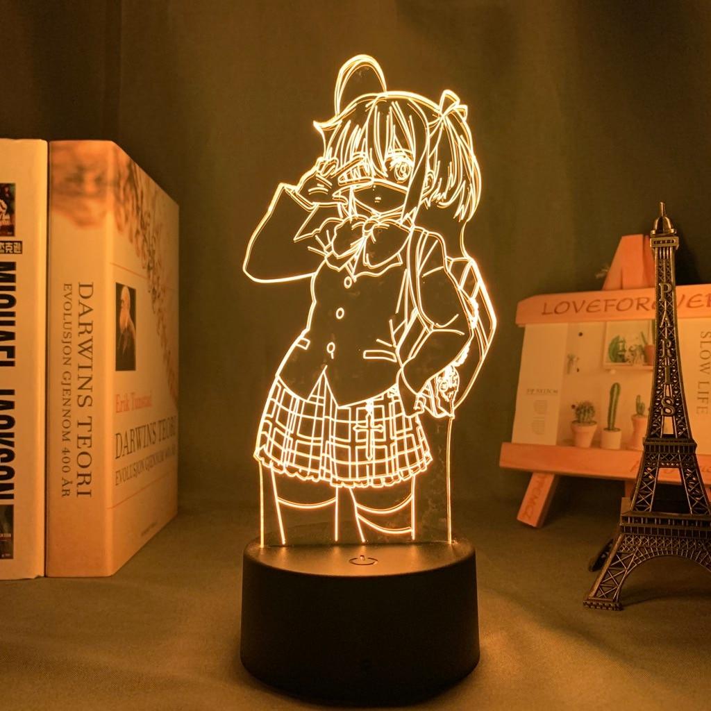 H799d43bb85bb4d5087e1f98af5b64ae9d Luminária Rikka takanashi led night light para o quarto decoração nightlight presente de aniversário anime 3d lâmpada rikka amor chunibyo